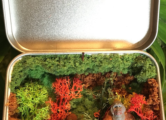 Large Secret metal box