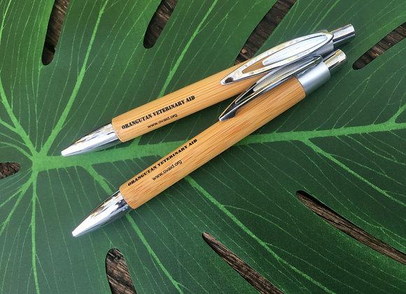 OVAID Bamboo ball point pen.