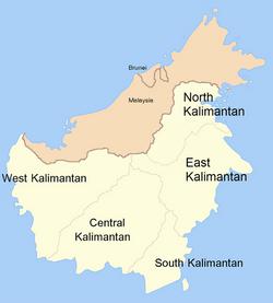 Island of Borneo