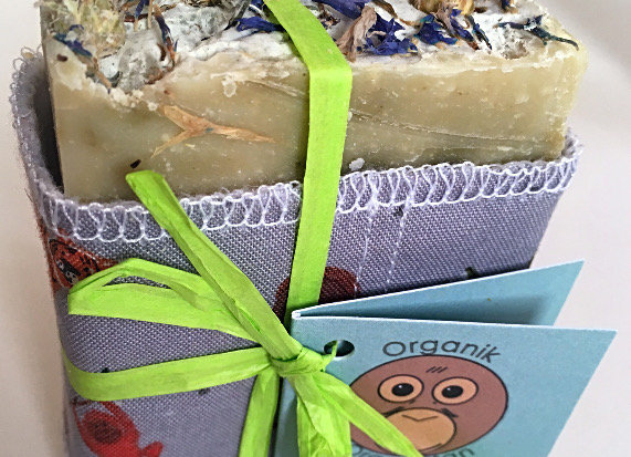 'Pongo' Scented Palm Oil Free Soap