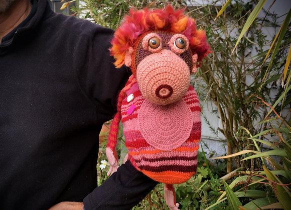 Orangutan 'Cling On'