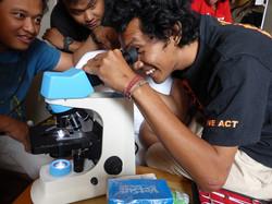 Microscopic joy!
