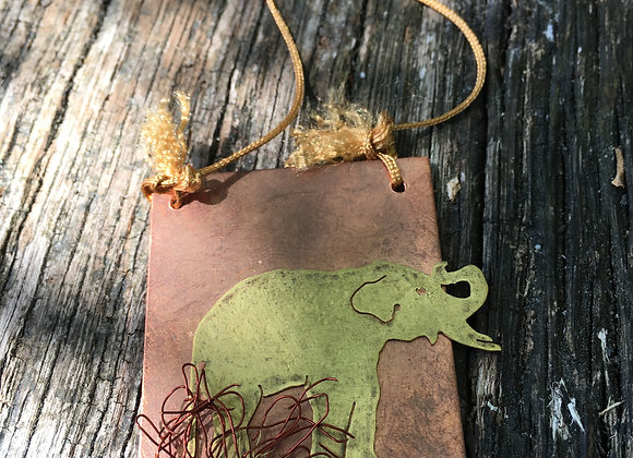 'Gajah' Bornean Pygmy Elephant Necklace