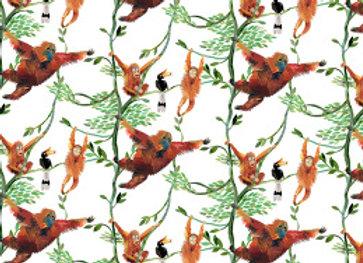 Orangutan Gift Wrap