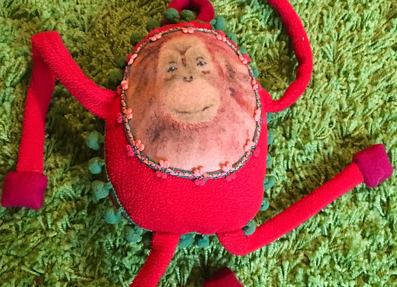 Orangutan Soft Toy 'Leo'