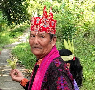 Dayak elder