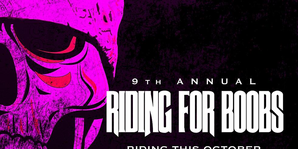 9th Annual Riding for Boobs