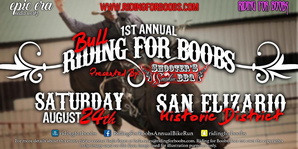 1st Annual Bull Riding for Boobs