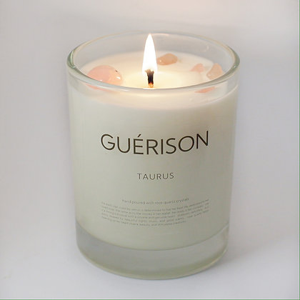MOONSTONE CANDLE TAURUS - GUERISON