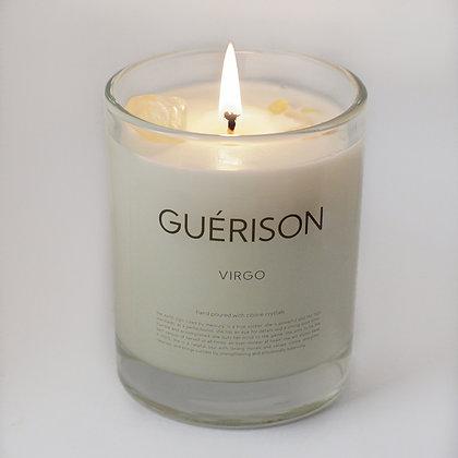 MOONSTONE CANDLE VIRGO - GUERISON