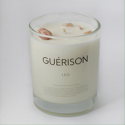 MOONSTONE CANDLE LEO - GUERISON