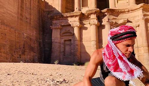 At Petra, Jordan A Wonder of the World.j