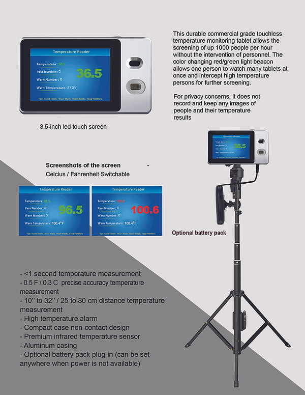 HVM BC-350 tablet brochure Page 1 for we