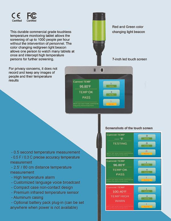 HVM BC-700 tablet brochure Page 1 for we