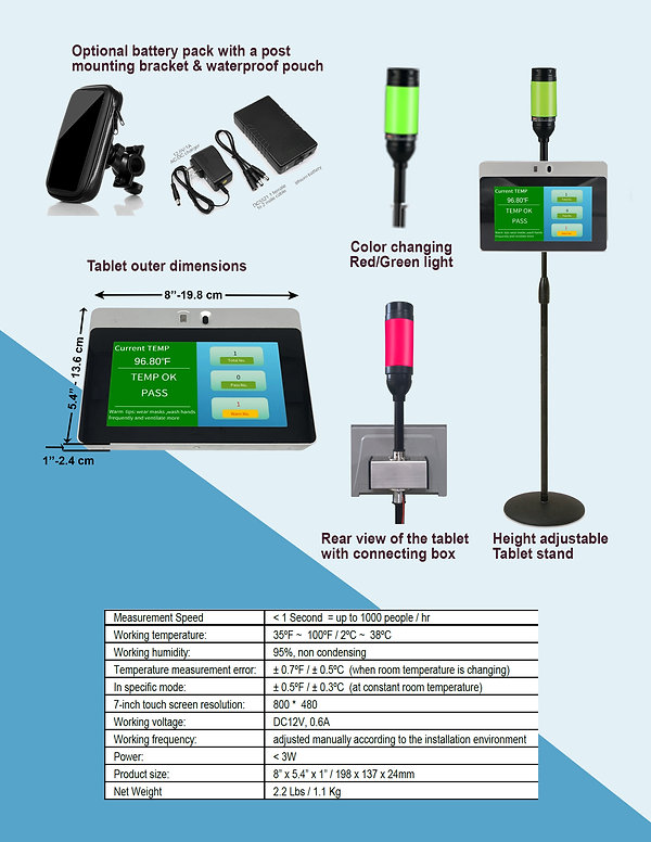 HVM BC-700 Tablet brochure page 2 for we
