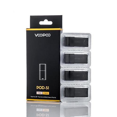 Voopoo S1 Pods x 4