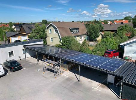 Fortsatt stöd för investering i solceller för andra än privatpersoner