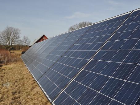 Solceller på Gotland
