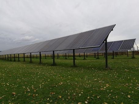 Solpaneler på Gotland