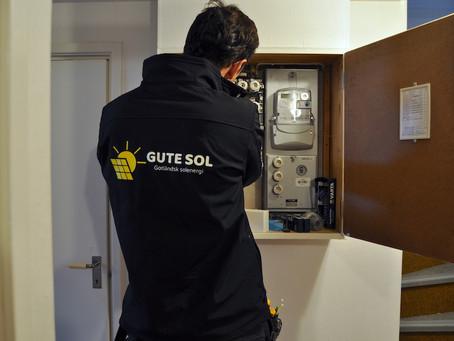 Bygglov för solceller på Gotland