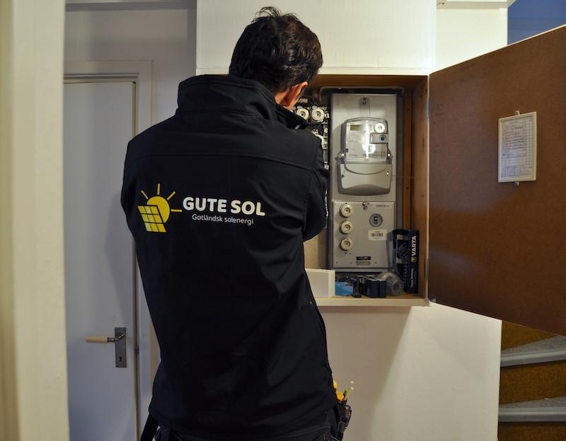 Bygglovsbefriad installation av solceller på Gotland