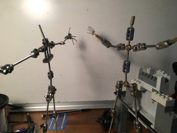 The finished armatures! (Brother!)