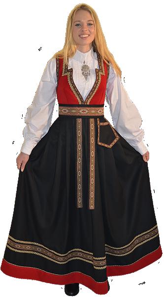 Dame Festdrakt- RS-1325