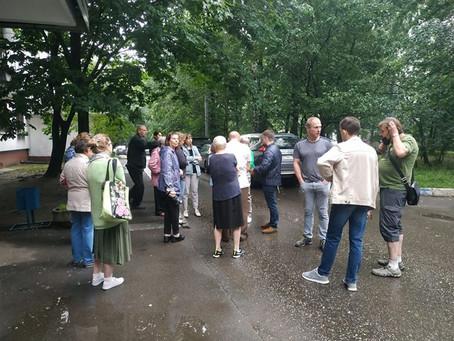 Встреча с жителями Севастопольский 83к2 по капремонту