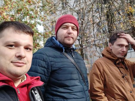 Записали видео про новую ярмарку около метро Нахимовский проспект