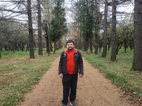 Прогулка в Коробковом саду.