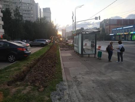 Благоустройство улицы Каховки
