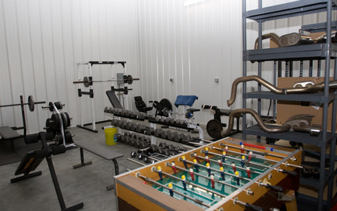 Weight bench and game area.jpg