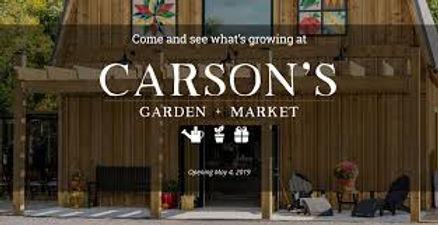 Carson's Garden Market front