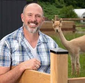 Carson Arthur & alpaca