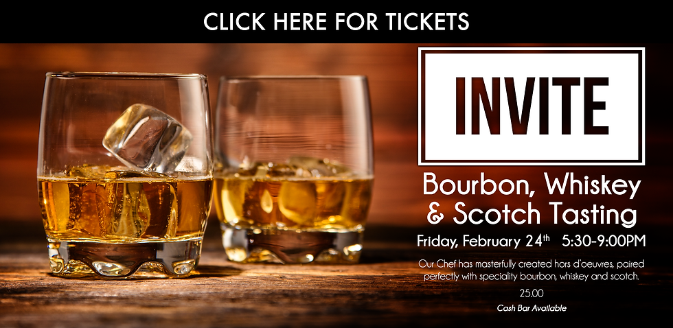 Downtown Cleveland Bourbon Whiskey and Scotch Tasting