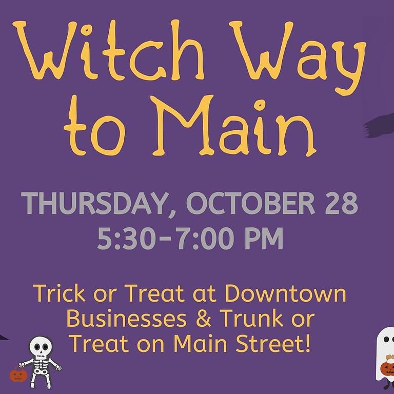Witch Way to Main