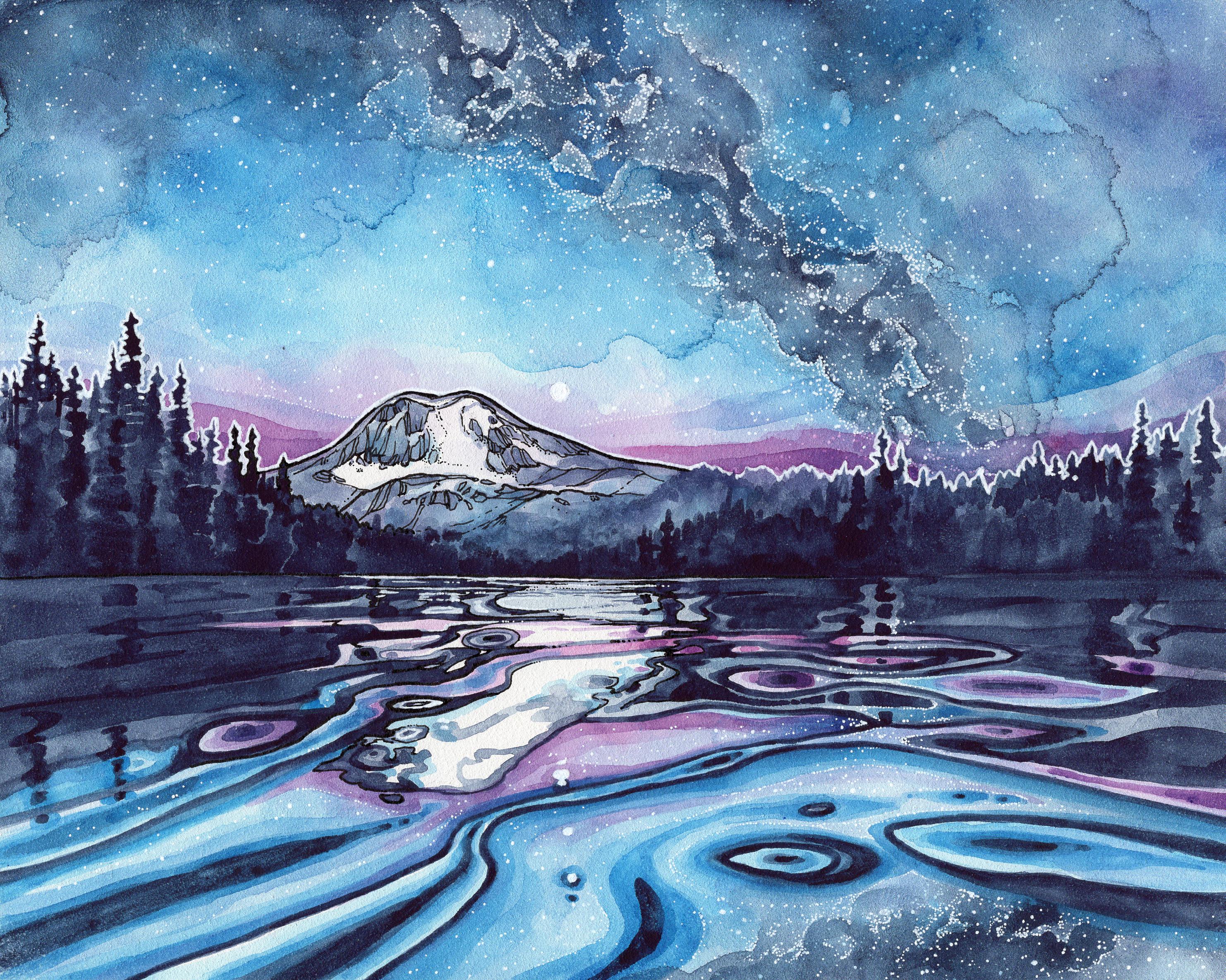 Takhlakh Lake by Christina McKeown