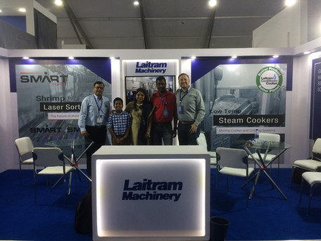 Thanks to all our visitors at the India Seafood Tradeshow!