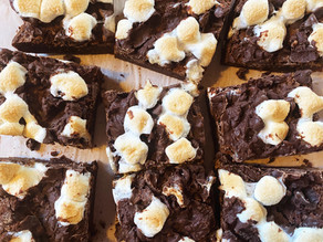 Marshmallow Monster Brownies