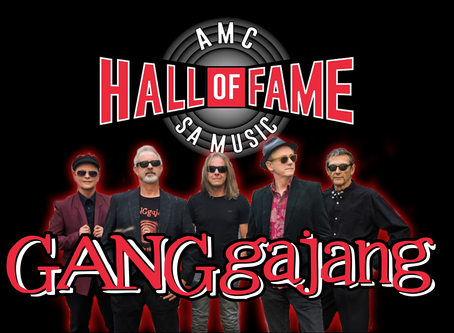 Gangajang inducted into the AMC SA Music Band Hall of Fame!!