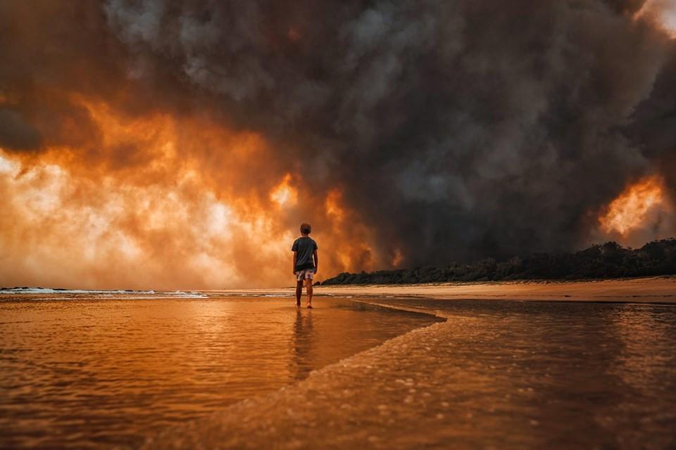 Boy vs Wild Fire