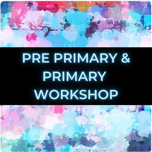 Pre Primary & Primary Online Workshop Packages