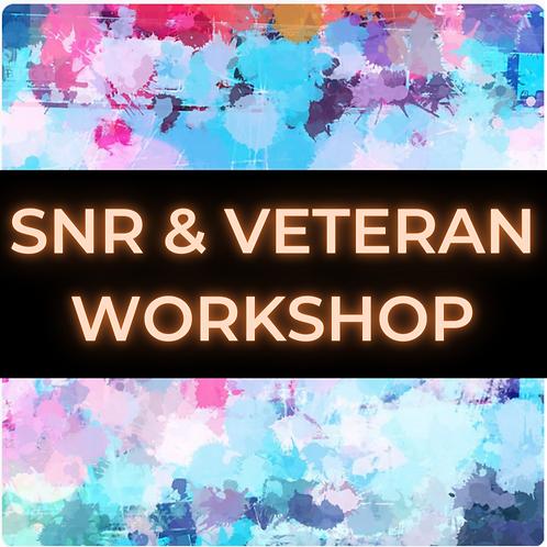 Senior & Veteran Online Workshop Package