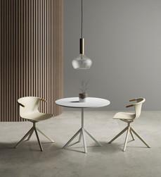 Ambiente Mesa Olívia Reunião com Cadeira
