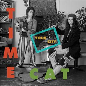 time cat band, Time Cat, time cat music, Your City, album, album art, Jeri Sapronetti, Sam Caler, Akron, Ohio, rock band, touring band