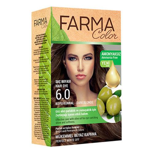 FARMACOLOR SAÇ BOYASI 6.0 KOYU KUMRAL