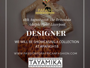Passion For African Fashion 2018 Pafash Liverpool