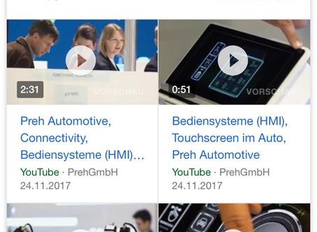 Mehr Videos in Google mobile SERPs