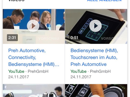 Mehr Videos in Google mobile SERPs