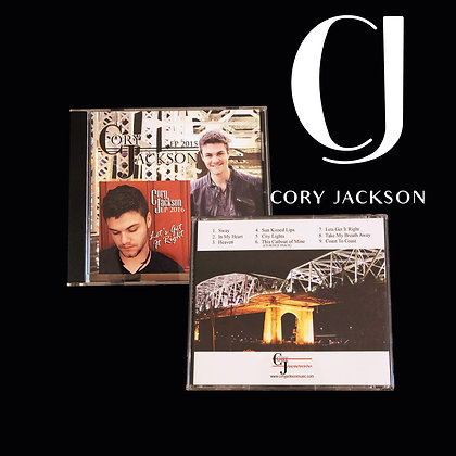"Combined CD - ""Cory Jackson"" & ""Let's Get It Right"""